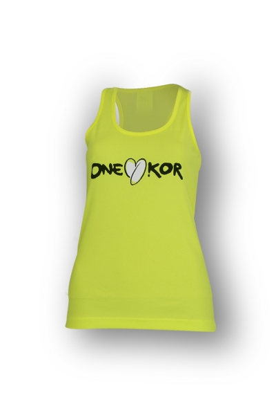 ONEKOR - Tank top yellow fluo