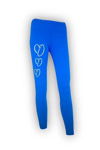 ONEKOR - Long leggins blue royale 3 hearts